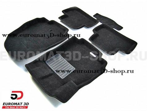 Текстильные 3D коврики Euromat3D Business в салон для Chevrolet Orlando (2011-) № EMC3D-001510