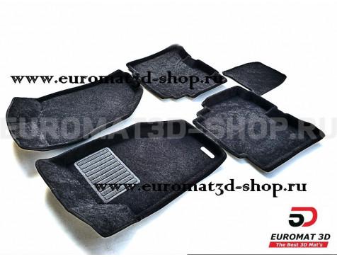 Текстильные 3D коврики Euromat3D Business в салон для Great Wall Hover H5 (2011-2013) № EMC3D-002550