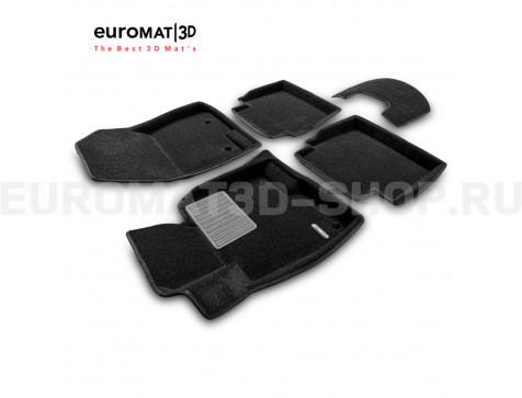 Текстильные 3D коврики Euromat3D Business в салон для Mazda 6 (2013-) № EMC3D-003410