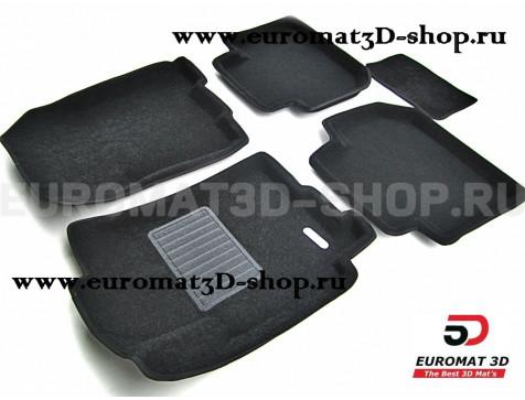 Текстильные 3D коврики Euromat3D Business в салон для Subaru Tribecca (2005-) № EMC3D-004710