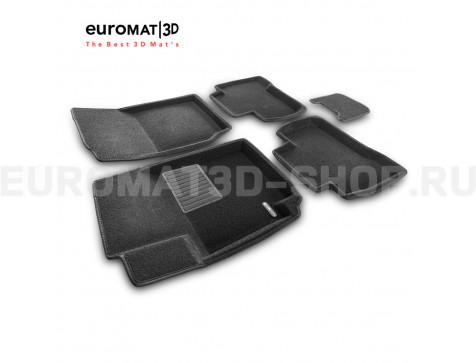 Текстильные 3D коврики Euromat3D Business в салон для Suzuki Grand Vitara (5дв) (2005-2014) № EMC3D-004801