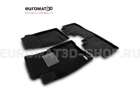 Текстильные 3D коврики Euromat3D Business в салон для Great Wall Hover H6 (2014-) № EMC3D-002551