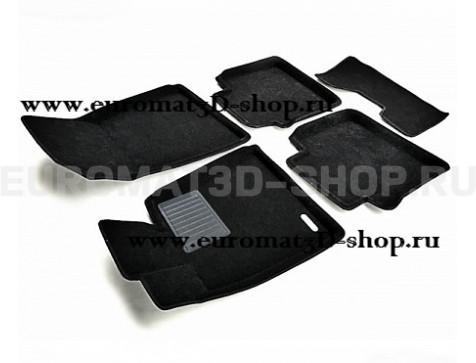 Текстильные 3D коврики Euromat3D Business в салон для Lexus GS (2005-2012) № EMC3D-003216