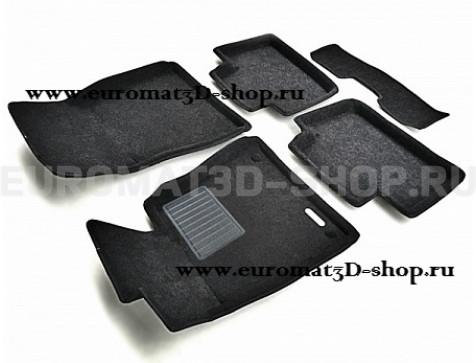 Текстильные 3D коврики Euromat3D Business в салон для Lexus IS (2013-) № EMC3D-003219