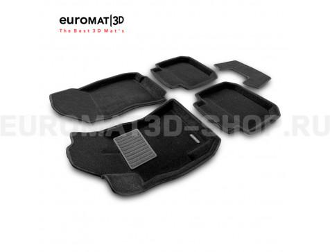 Текстильные 3D коврики Euromat3D Business в салон для Subaru Legacy (2010-) № EMC3D-004704