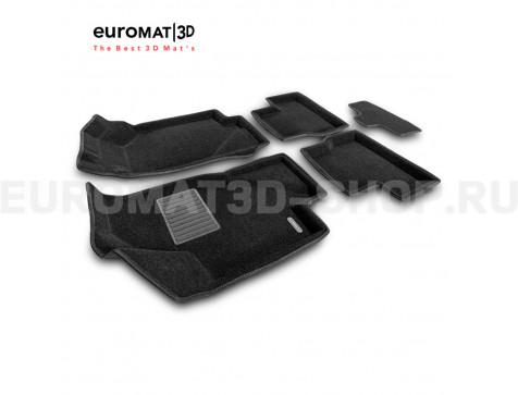 Текстильные 3D коврики Euromat3D Business в салон для Lada Granta (2014-) № EMC3D-005310