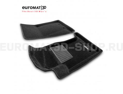 Текстильные 3D коврики Euromat3D Business в салон для Jaguar F-Type (2015-) № EMC3D-002755