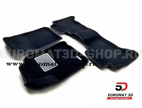 Текстильные 3D коврики Euromat3D Business в салон для Toyota 4Runner (2002-2009) № EMC3D-005141
