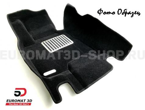 Текстильные 5D коврики с высоким бортом Euromat3D в салон для Chevrolet Cruze (2009-) № EM3D-001504