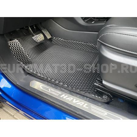 3D коврики Euromat3D EVA в салон для Haval F7 (2019-) № EM3DEVA-001404