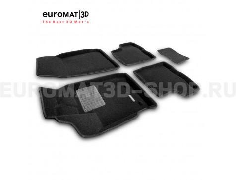 Текстильные 3D коврики Euromat3D Business в салон для Renault Duster (2021-) № EMC3D-004212